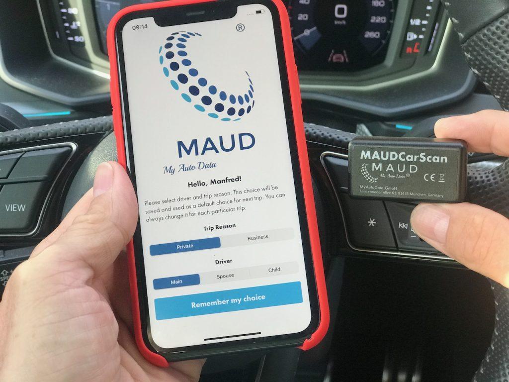 MAUD Adapter und MAUD App